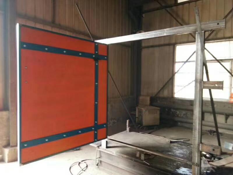 矿用竹胶板风门订制生产
